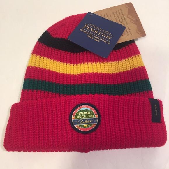 New Rainier Pendleton Woolen Mills Hat 2017 Beanie 5c5ef4a90c7